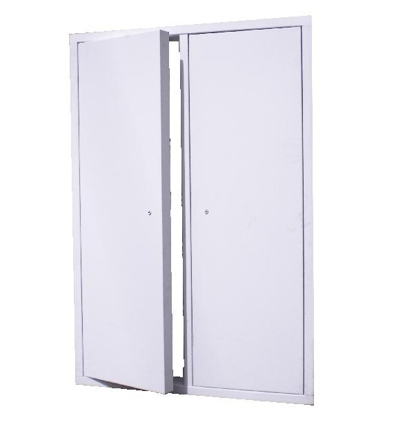 fd2d series 2 hour fire rated insulated double door