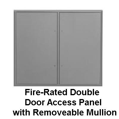 Fd2d series 2 hour fire rated insulated double door for 1 hr fire rated door