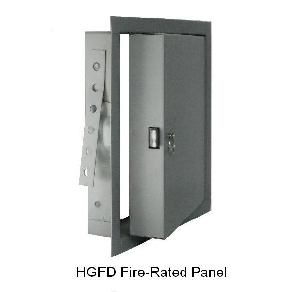 Hgfd Heavy Gauge Insulated Fire Rated Flush Access Panel