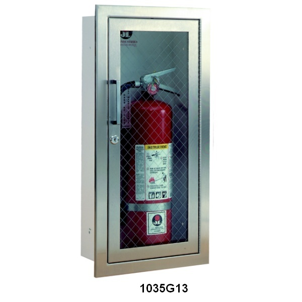 Cosmopolitan Series Stainless Steel Fire Extinguisher