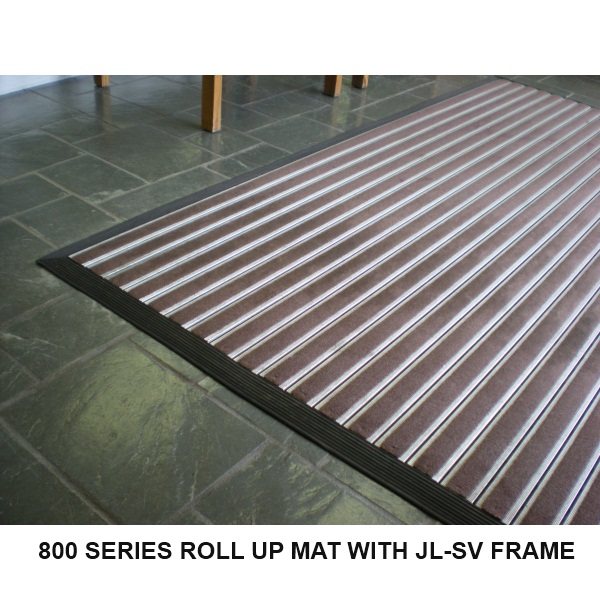 Jl 800 Series Aluminum Roll Up Floor Mat Activar