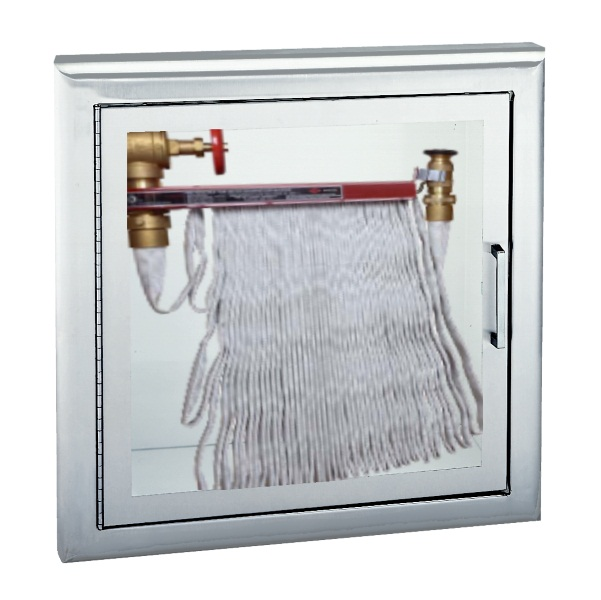 Stainless Steel Cabinet In 11 Door Styles To House Up To 125u0027 Hose Rack  Unit, Fire Department Valve, Or Combinations Of Hose Rack U0026 Fire Department  Valve, ...