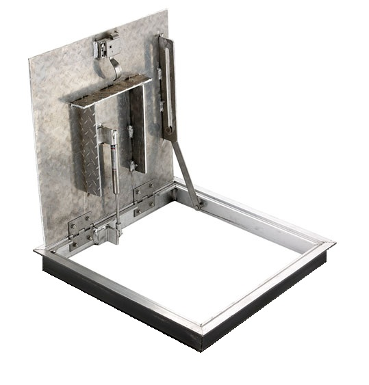 AAF - LR ALUMINUM ANGLE FLOOR DOOR - RETROFIT MODEL