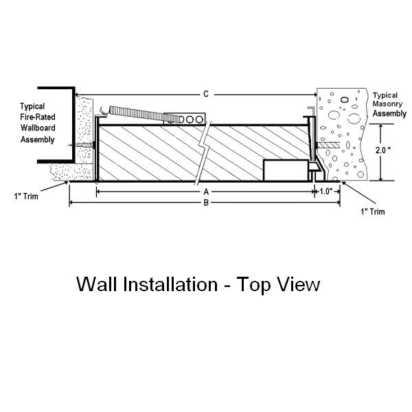 Fds Stainless Steel Insulated Fire Rated Flush Access