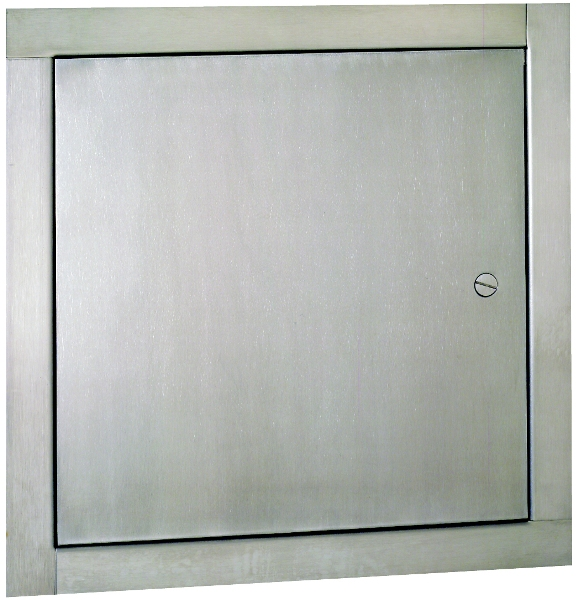 Stainless Access Doors : Tms multi purpose flush stainless steel access panel