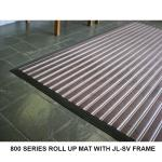 JL-800 Roll Up Mat with JL-SV Surface Mounted Frame