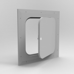 GF Glass Fiber Panel with Rounded Corners
