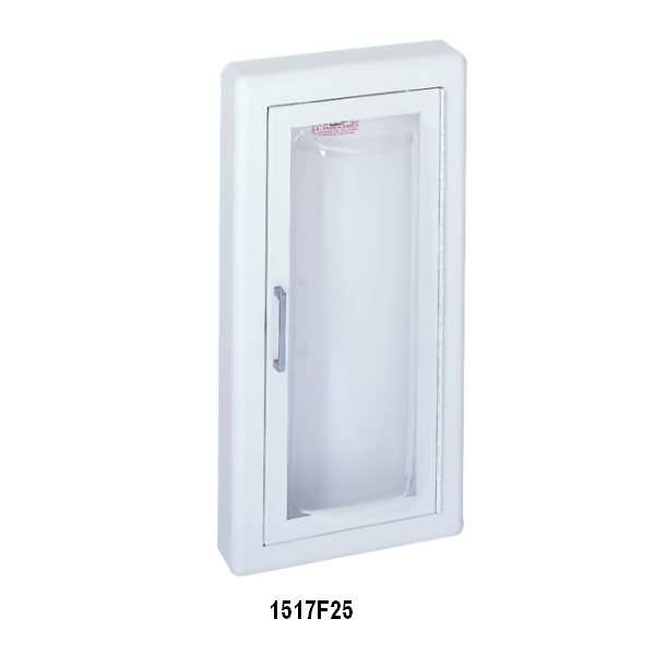 CLEAR VU SERIES - FIRE EXTINGUISHER CABINET WITH ACRYLIC BUBBLE ...