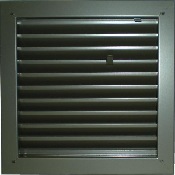 1900a Fire Rated Adjustable Z Blade Louver Activar