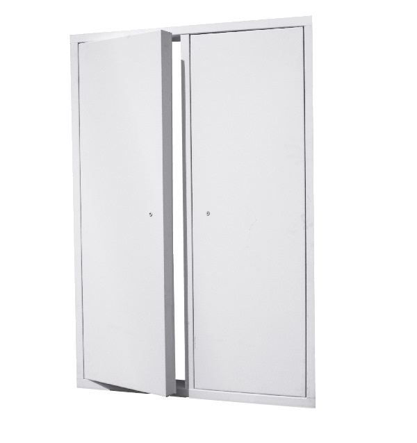 Fd3d series 3 hour fire rated insulated double door for Insulated double doors