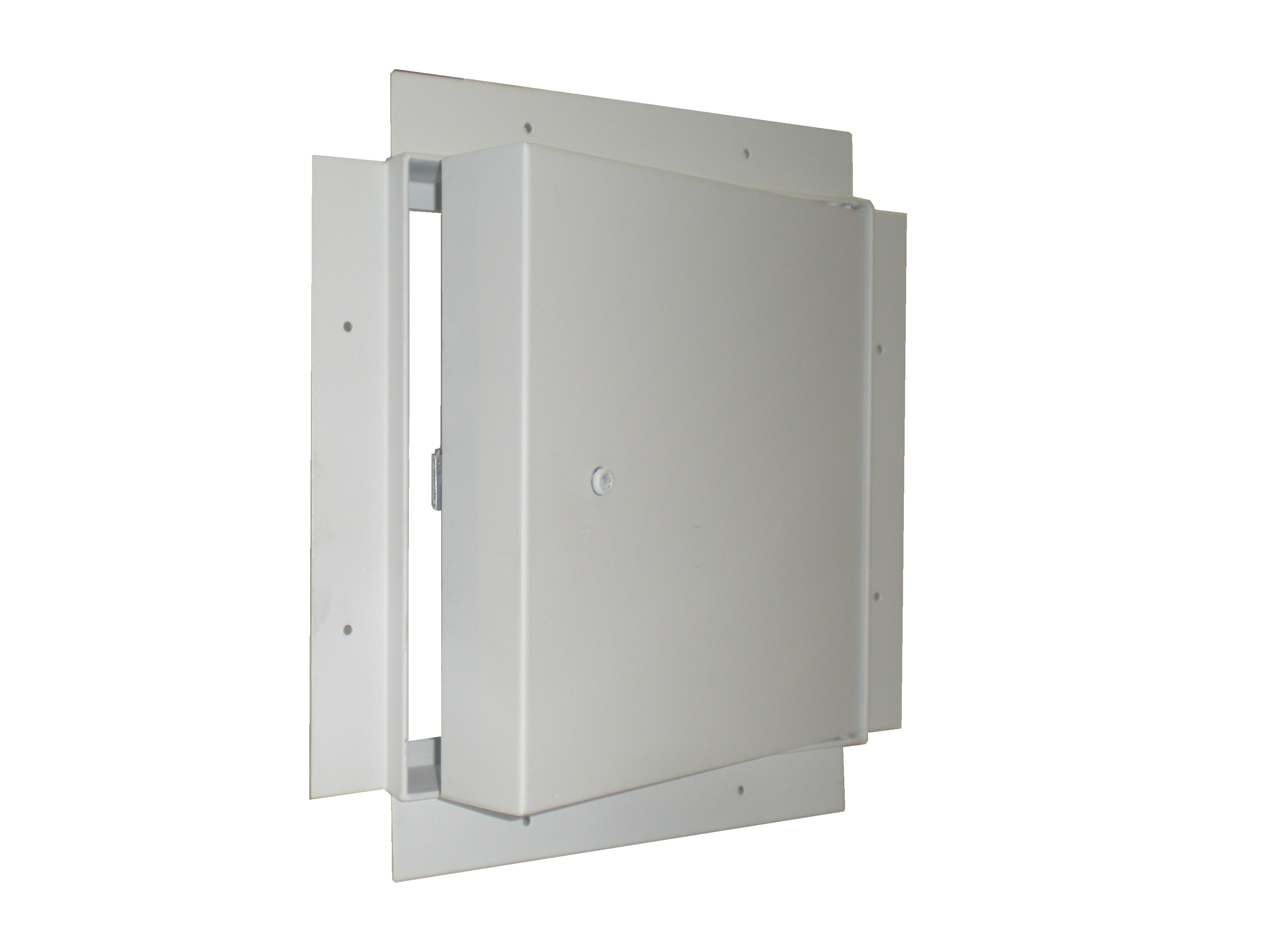 Fire Rated Access Doors : Fd rf hour fire rated recessed flange access panel for