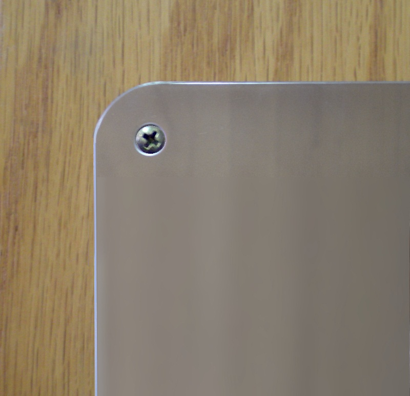 Pp210 Push Plates With Beveled Corners Activar