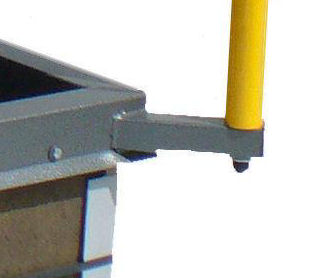 Rhg Sth Rhg Series Roof Hatches With Safety Railing