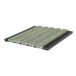 Activ-Grate™ EG400 Roll-Up Entrance Grating with Mint Premium Carpet
