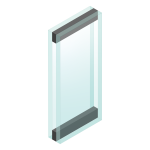 Illustration of INSU - Insulated Glass Unit